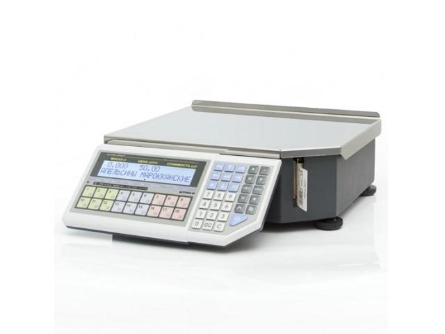 Весы с принтером этикеток ШТРИХ-ПРИНТ ФI 4.5