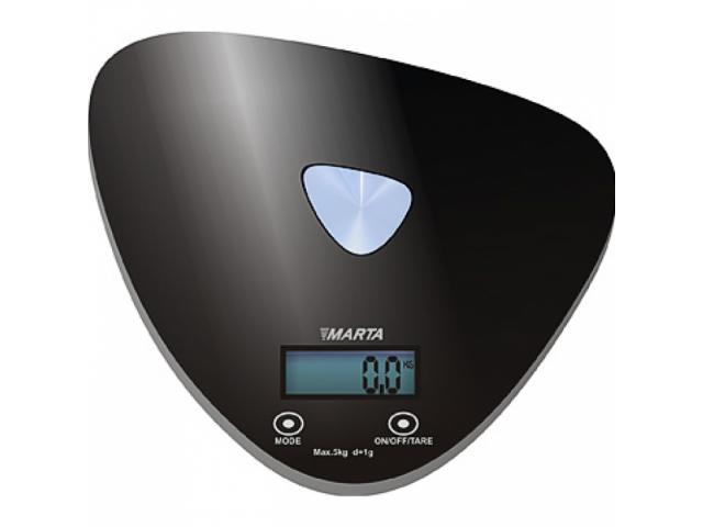 Бытовые весы Marta MT-1632 (черный)