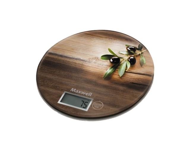 Бытовые весы Maxwell 1460-MW-01 (коричневый)
