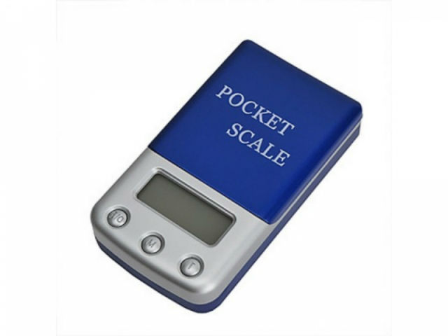 Карманные весы Pocket scale (ML-B01) (ювелирные)