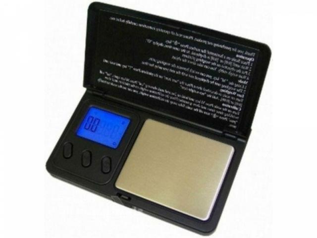Карманные весы Pocket scale (ML-E06) (ювелирные)
