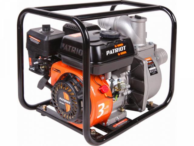 Мотопомпа PATRIOT MP 3060S (бензиновая для слабозагрязненной воды)