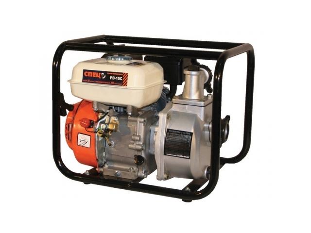Мотопомпа СПЕЦ PB15C (бензиновая)