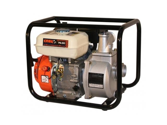 Мотопомпа СПЕЦ PB20C (бензиновая)