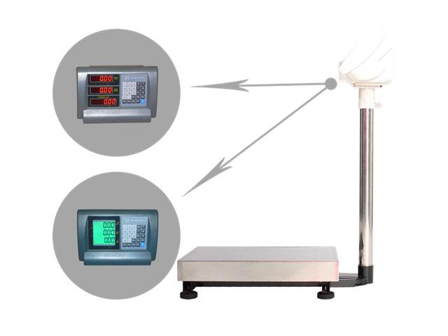 Напольные весы ВЭТ-600-1С-АБ/600х800