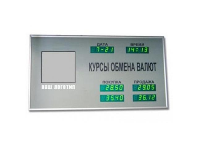 Табло курсов валют CERB-2