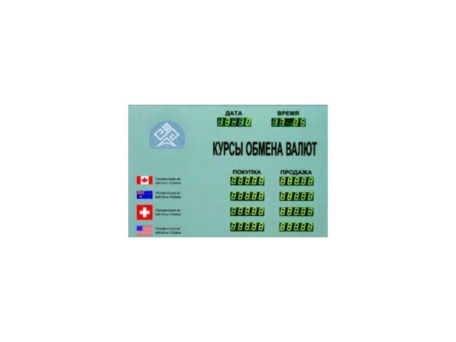 Табло курсов валют CERB-4 (доп. информация)