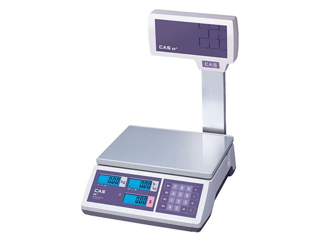 Торговые весы CAS ER JR-30CBU