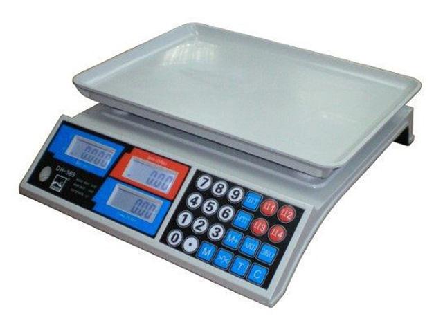 Торговые весы GreatRiver DH-585 LCD