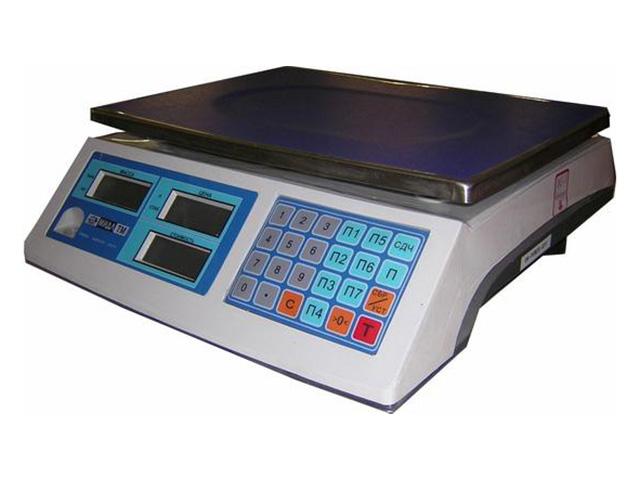 Торговые весы МТ 30 МЖА-7 Базар 2