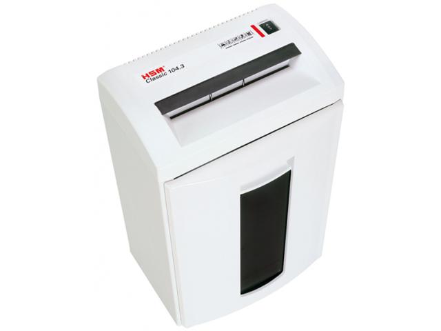 Уничтожитель бумаги HSM 104.3 C (3.9х30 мм)