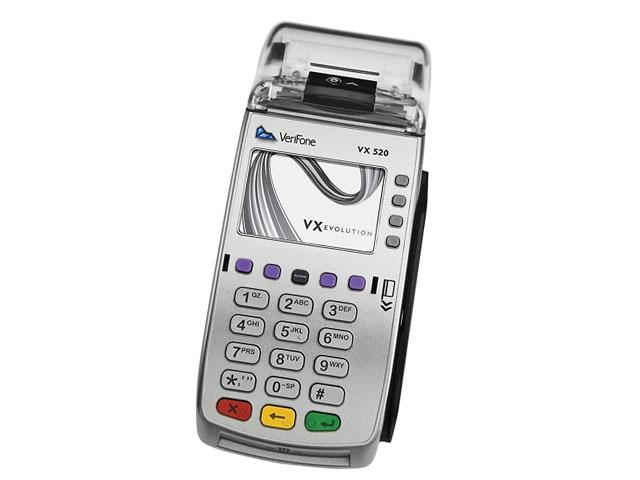 Эквайринговый терминал Verifone Vx520 CTLS GPRS