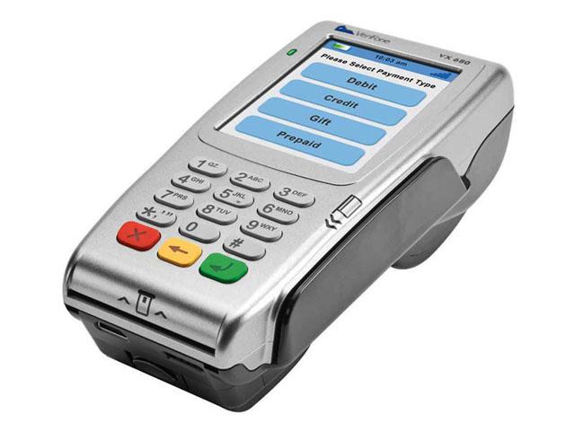 Эквайринговый терминал Verifone VX680 CTLS GPRS