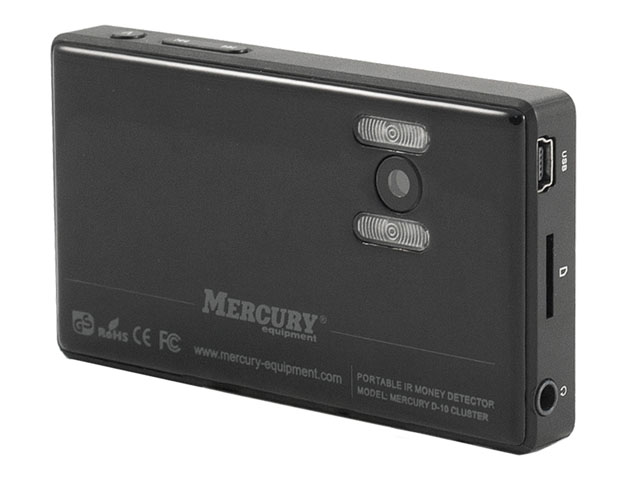 Детектор валют Mercury D-10