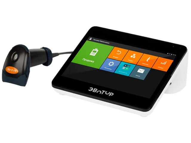 Онлайн касса Эвотор 10 Стандарт со сканером